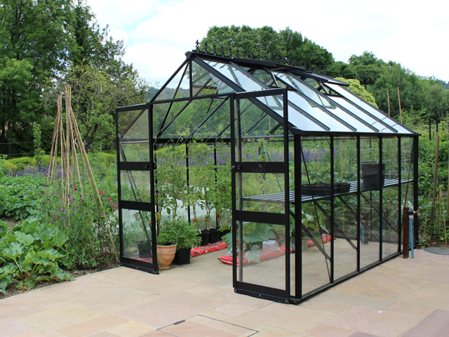 burtenshaw garden buildings eden aluminium greenhouses. Black Bedroom Furniture Sets. Home Design Ideas