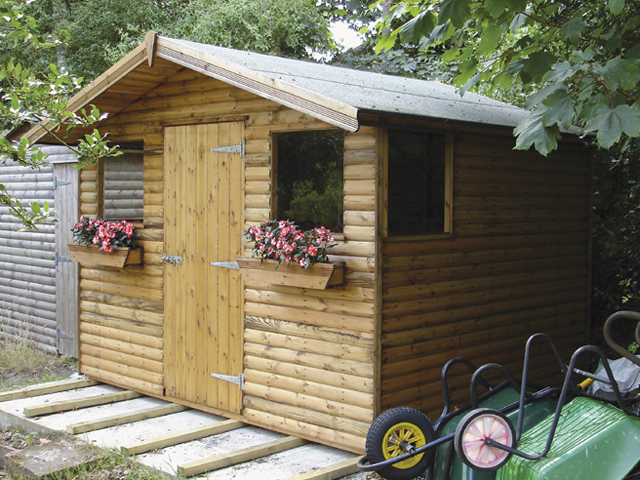 Gable And Pent Sheds